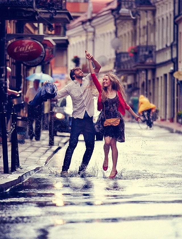 Caminando sobre mojado