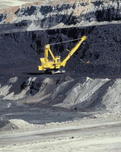 Open pit coal mining (Credit: headwaterseconomics.org) Click to Enlarge.