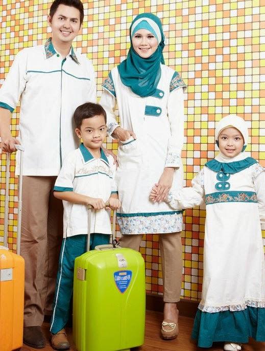 10 Baju Muslim Couple Ayah Ibu Dan Anak Terbaru