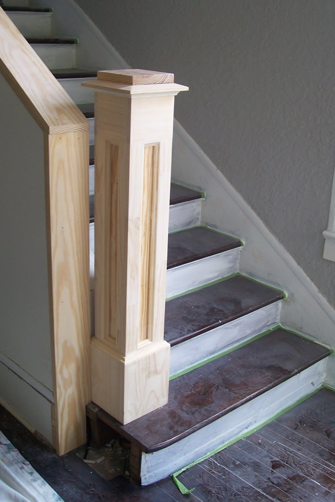 Build Newel Post Little Old House Its A Newel Post