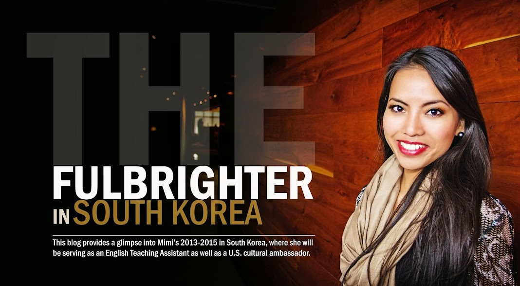 The Fulbrighter in South Korea