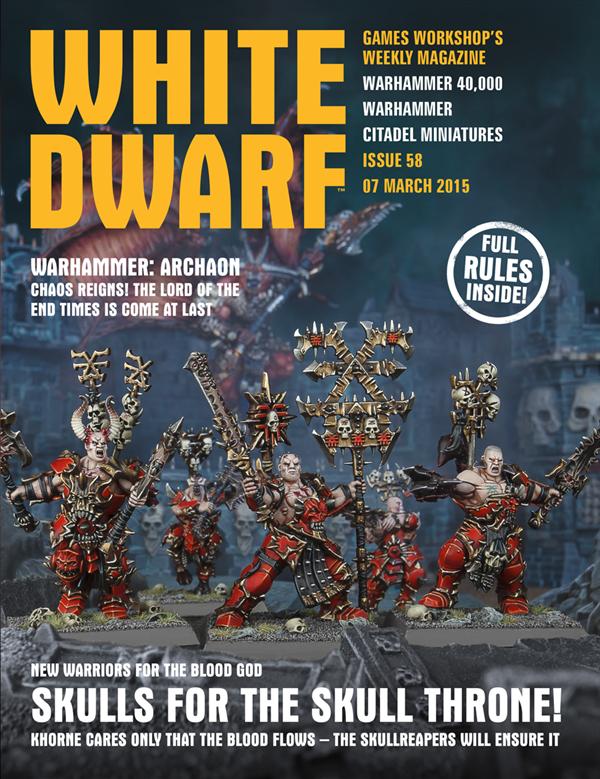 White Dwarf Weekly número 58 de marzo