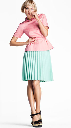 faldas plisadas 2012