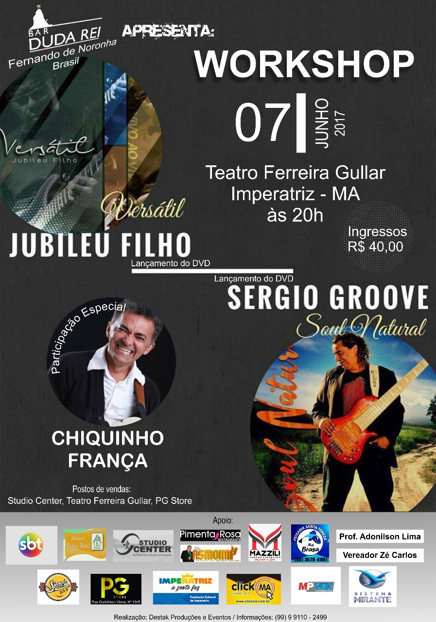 WORKSHOP - TEATRO FERREIRA GULLAR