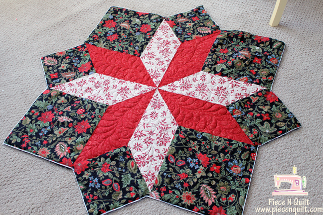 Piece N Quilt: Christmas Tree Skirts