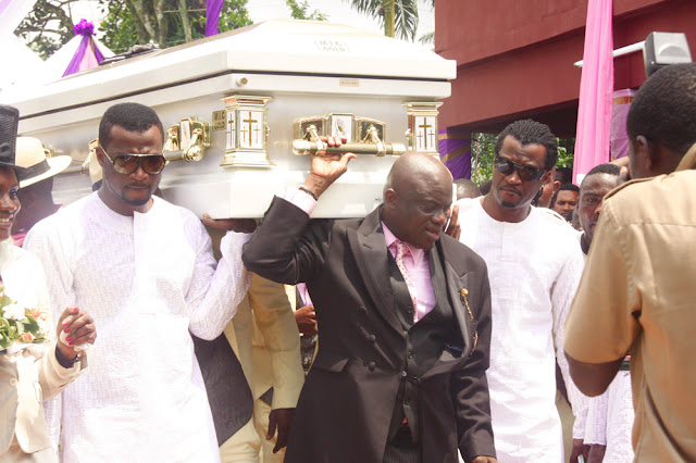 P Square Mother Burial Video WomenStyles: Pics From...