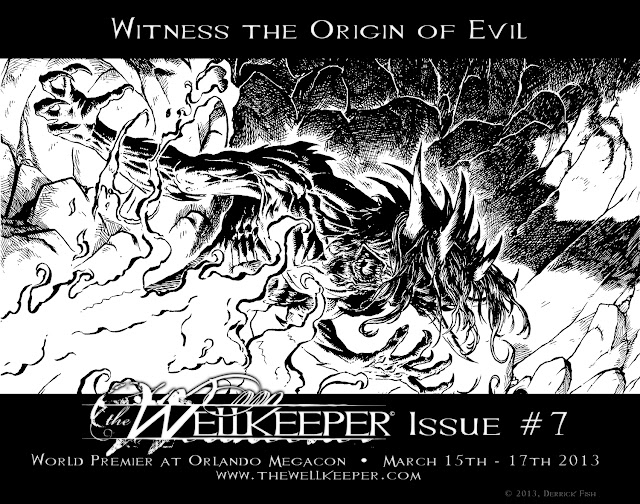 the Wellkeeper Derrick Fish Issue 7 Preview Art