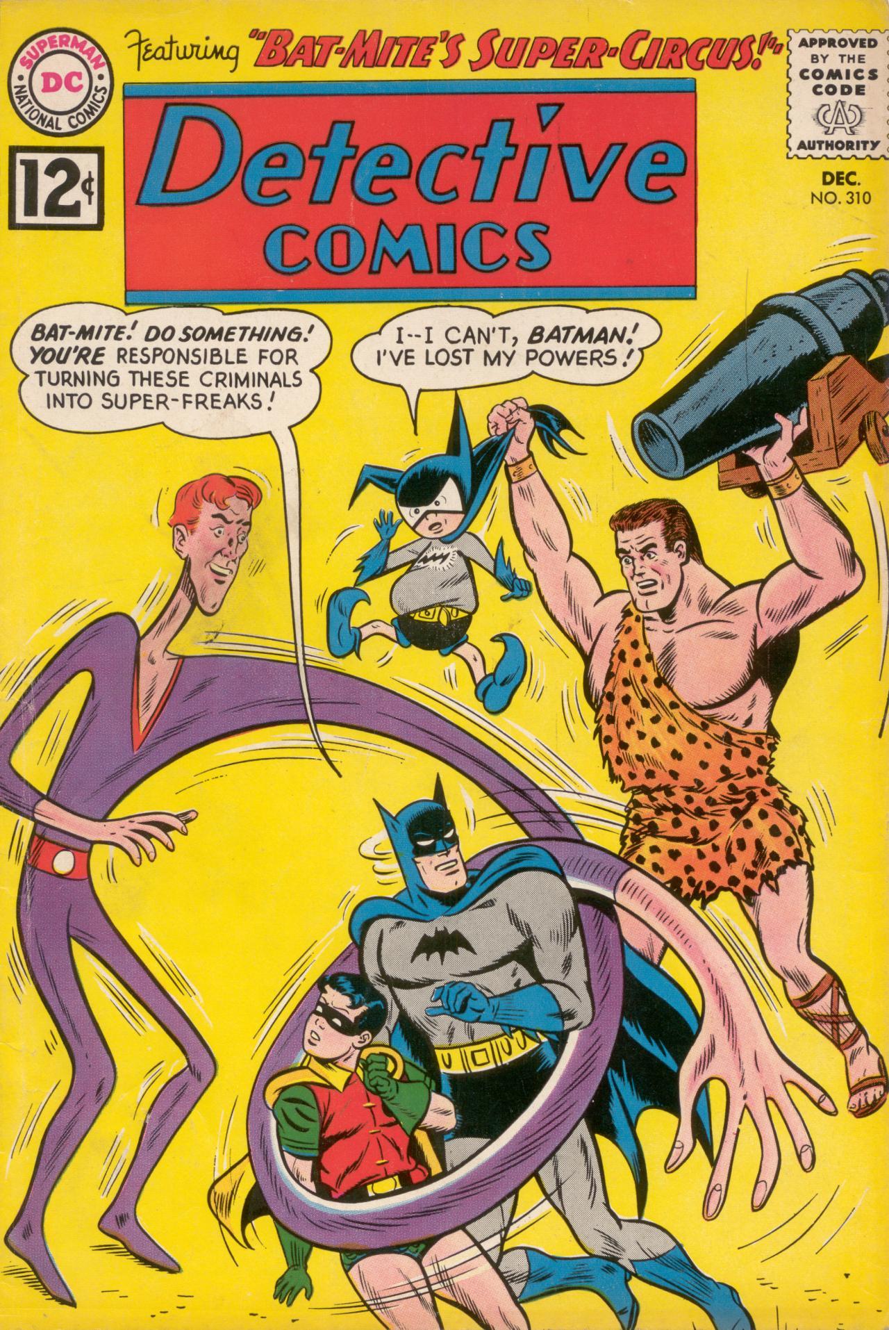 Detective Comics (1937) 310 Page 1