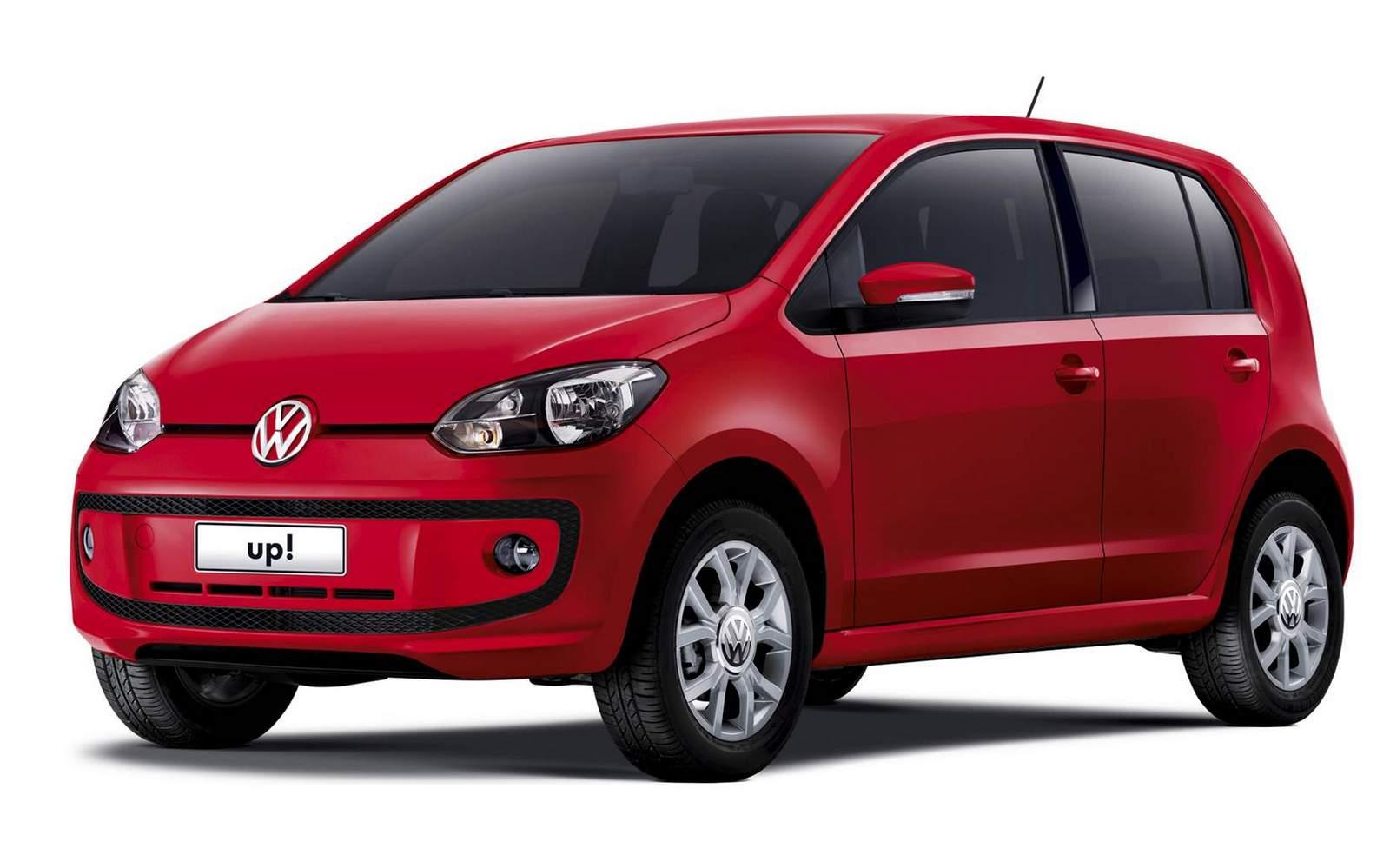 Volkswagen up!: relação de concorrentes no Uruguai