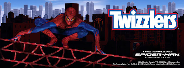 Spider-Man Twizzlers Promo Photo