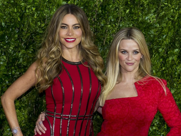 Sofia Vergara and Reese Witherspoon participate in Premiere in Mexico