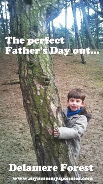 Father's Day out in Delamere Forest