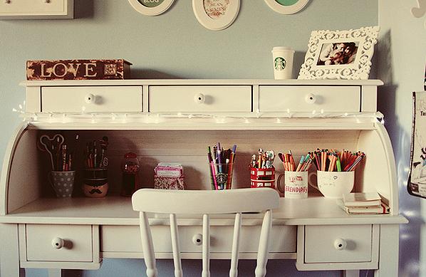 Sonhos Pré Concebidos Móveis Vintage para seu quarto! ~ Quarto Retro Tumblr