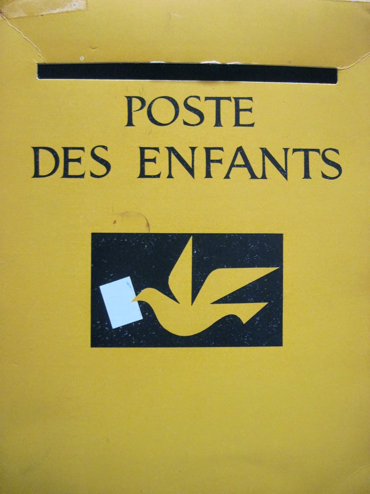 Collectionneur de timbres et de cartes postales: Boites de jeux: La Poste des Enfants