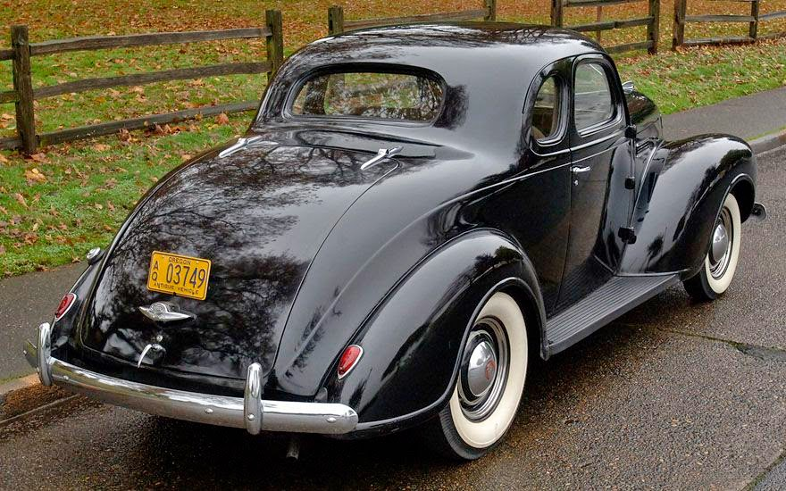 Aunt Bea's 1939 Plymouth