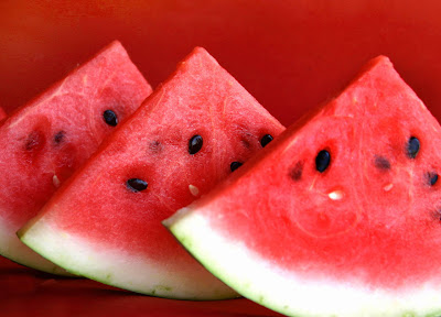 Soreness after exercise, watermelon can suppress