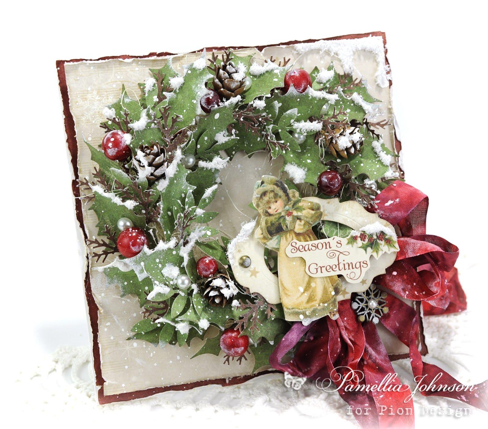 Pion Design - Christmas Wreath