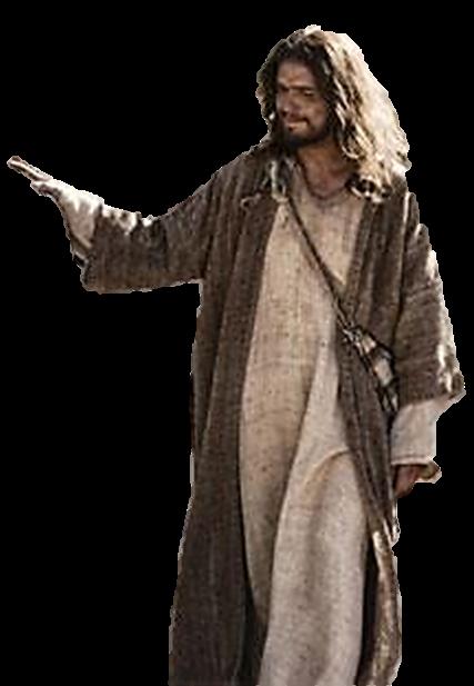 Jesus nos abençoando