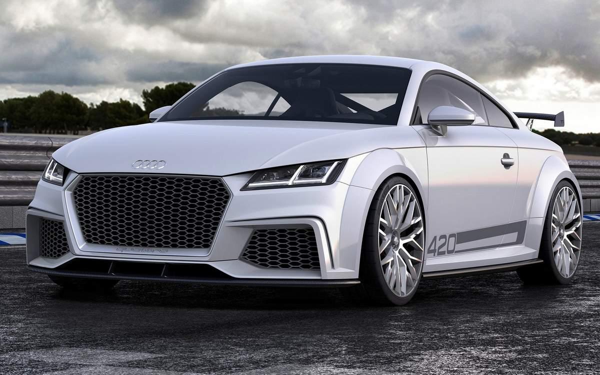 Novo Audi TTS 2015