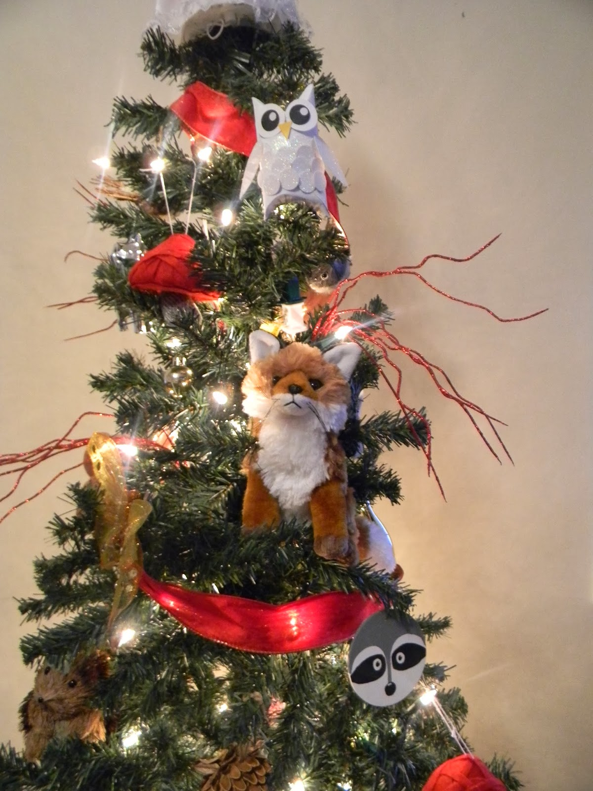My Favorite Part Of The Tree Has To Be The Fox Toy I