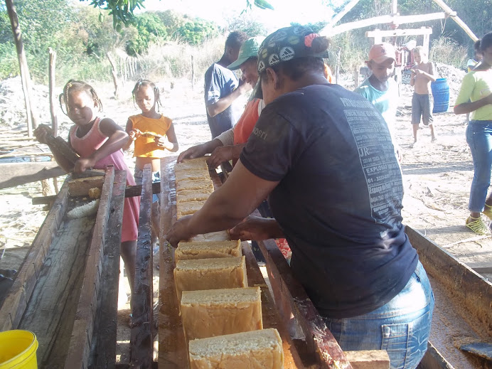 produção artesanal de rapadura