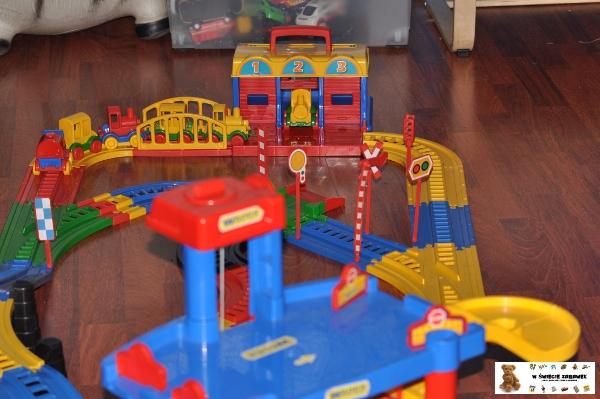 W świecie Zabawek Wader Garaż 4 Poziomy
