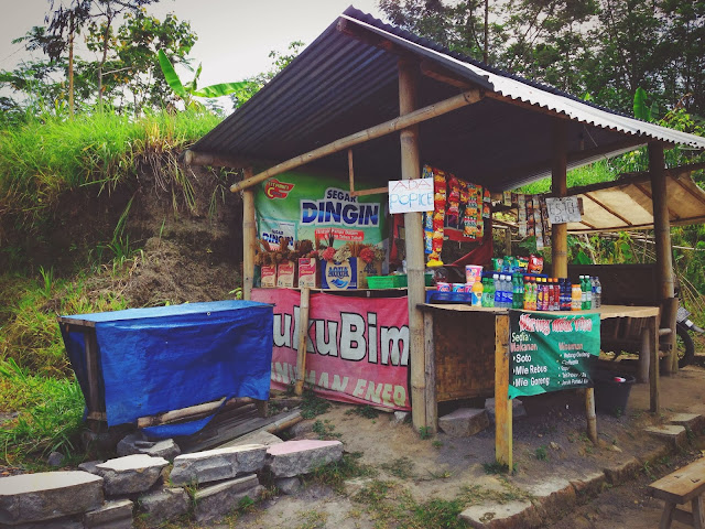 Snack Stall at Mount Merapi