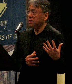 Kazuo Ishiguro at Ely Cathedral