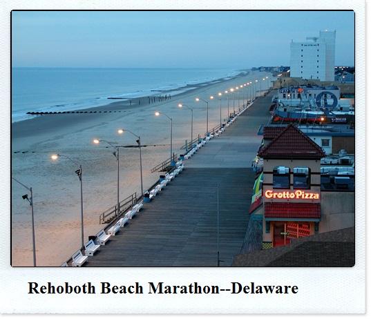 Enjoy The Journey Rehoboth Beach Marathon Delaware