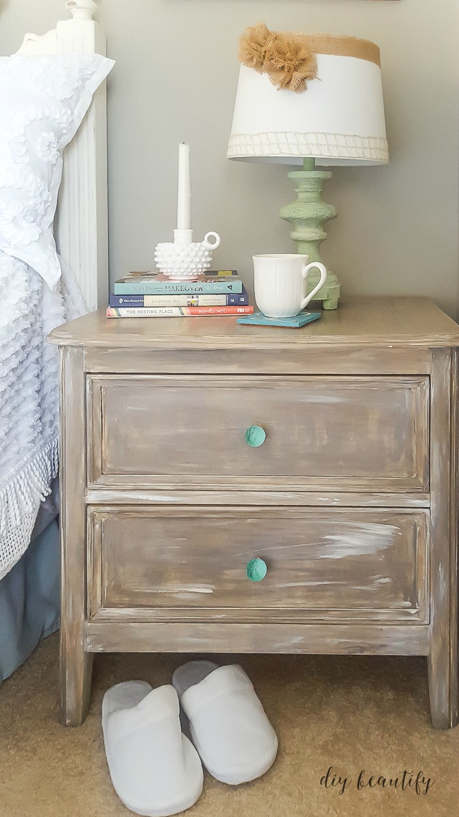 How To Add A Driftwood Finish To Furniture One Room
