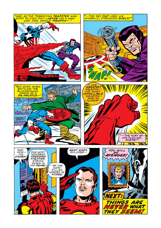 Captain America (1968) Issue #112 #26 - English 21