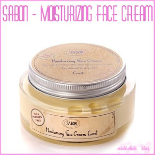 Sabon - Moisturizing Face Cream - favori cilt bakim kremi