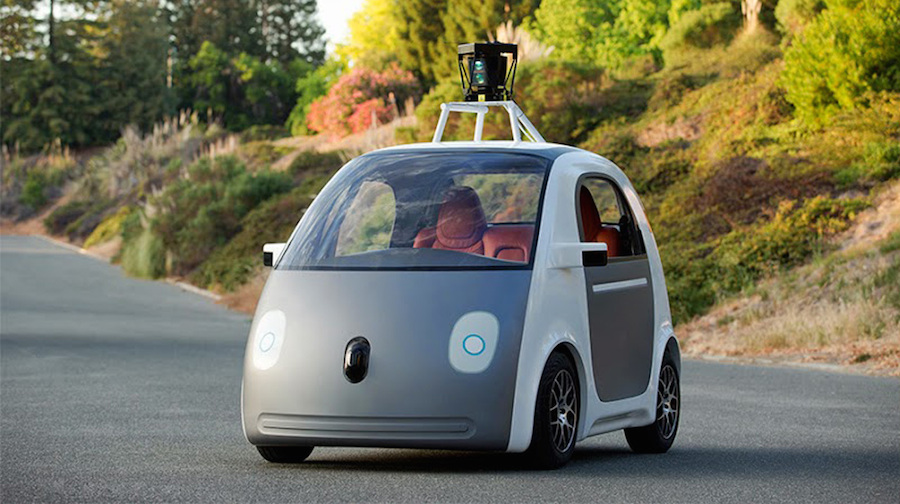 Googleが独自開発した自動運転車のプロトタイプを初公開!