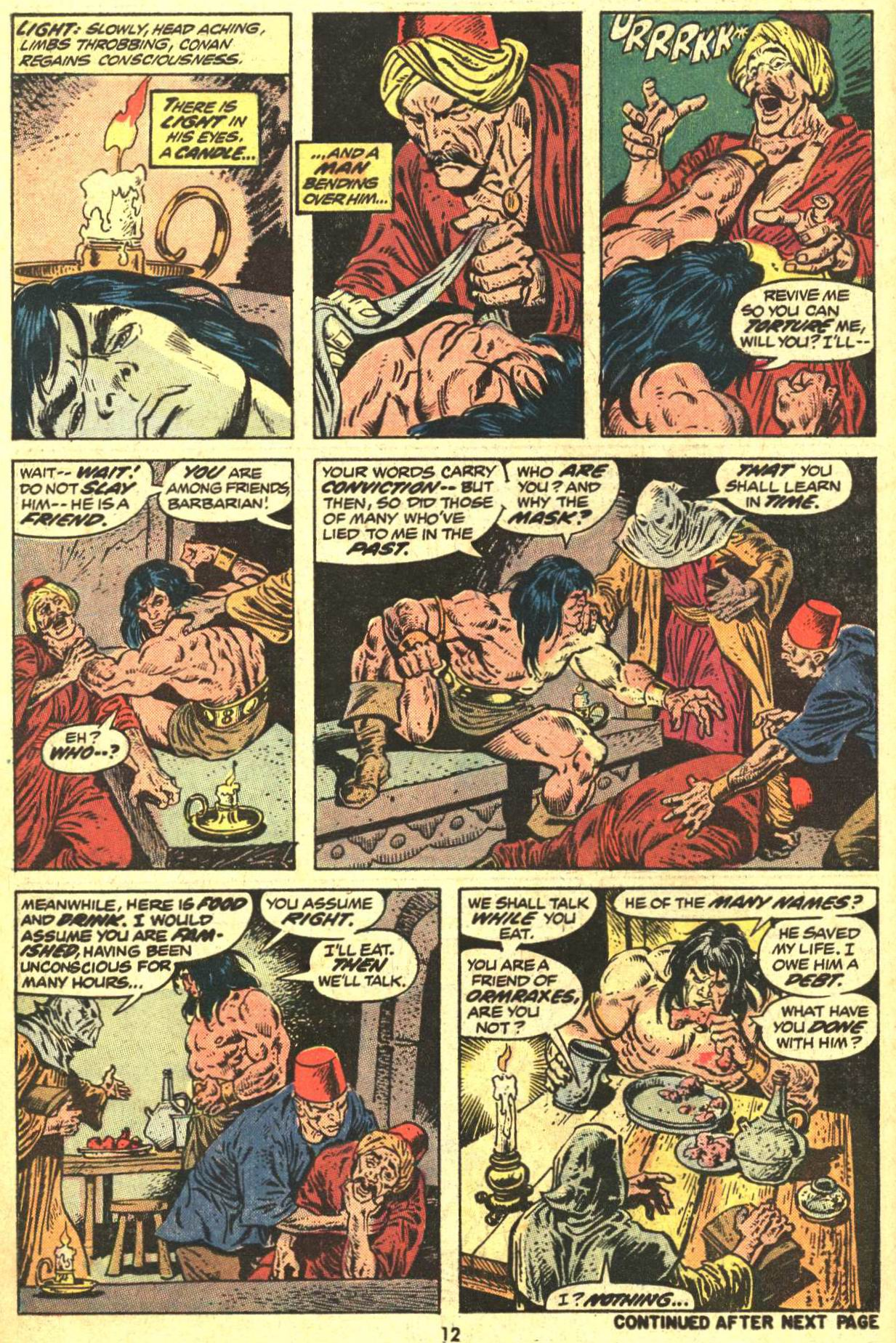 Conan the Barbarian (1970) Issue #29 #41 - English 10