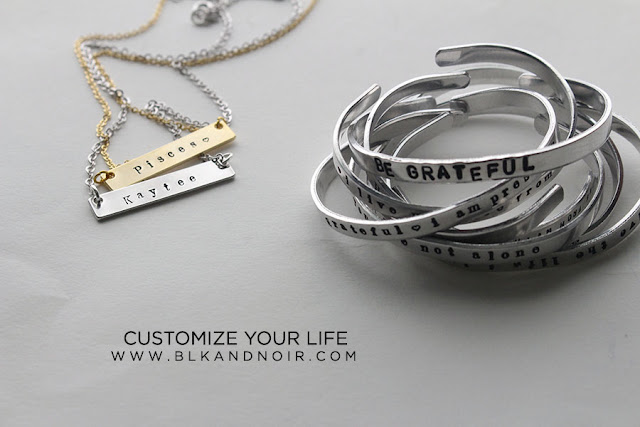 CUSTOMIZED JEWELRY BY BLKANDNOIR