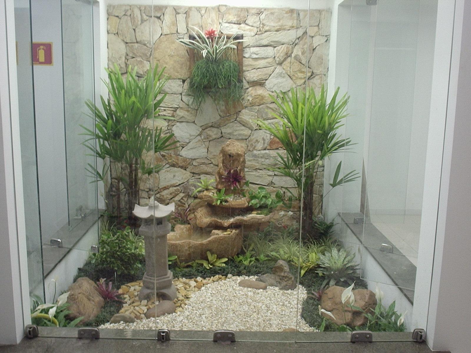 Para criarum jardim japonês é necessário reservar um espaço
