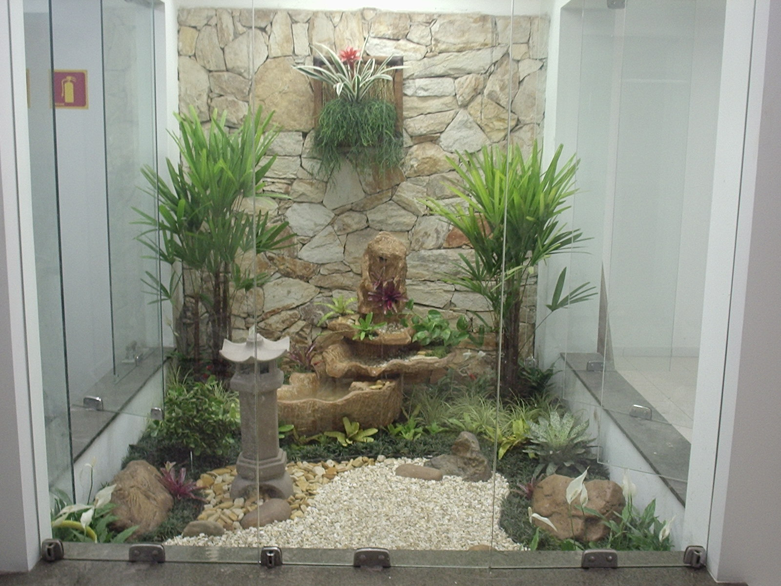 mini jardim oriental:Jardim De Inverno