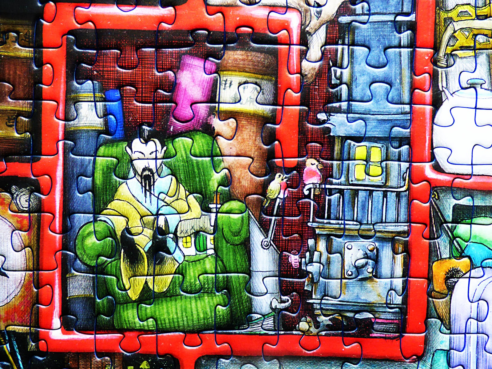 chez maximka the red box 1000 piece puzzle from ravensburger