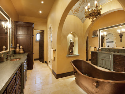 Tuscan Bathrooms Designs