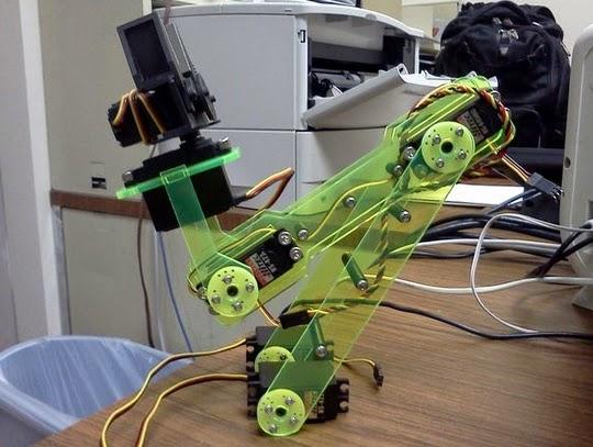 membuat robot arm menggunakan akrilik gb.1