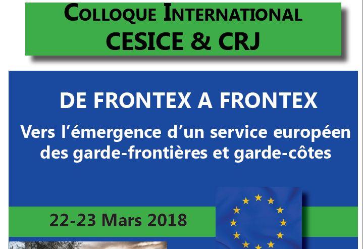 FRONTEX - Colloque