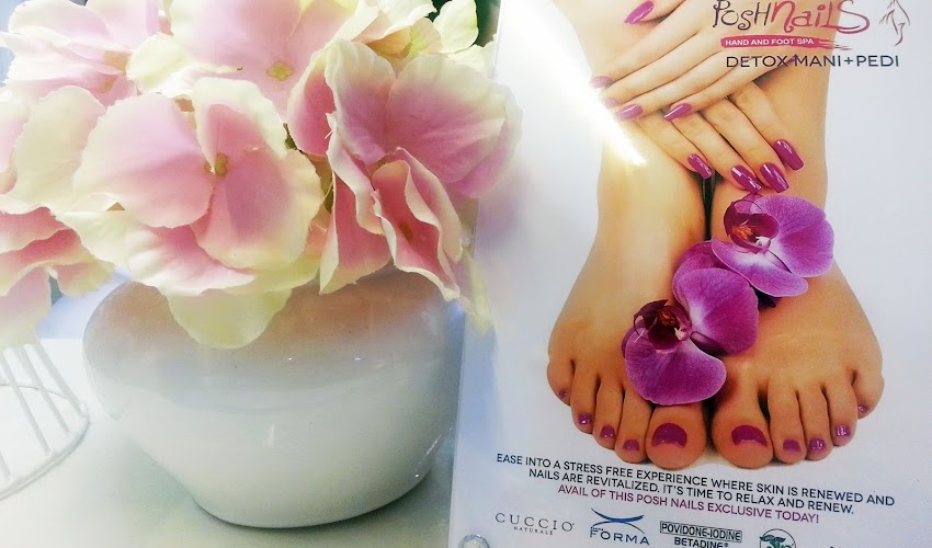 Happy 13th Year Anniversary Posh Nails + New Wellness Package – Detox Mani & Pedi!