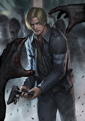 Resident Evil 6, fan-art di chrisnfy85