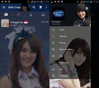 BBM Mod Nabilah Jkt48 Apk 2.11