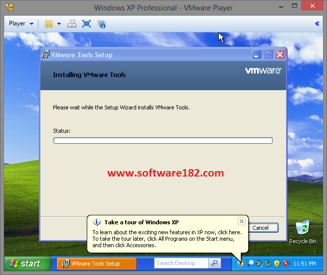 Cara Install Windows XP di VMware
