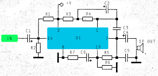 PA246 amplifier circuit