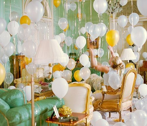 After having a request to design a wedding that included balloons in the