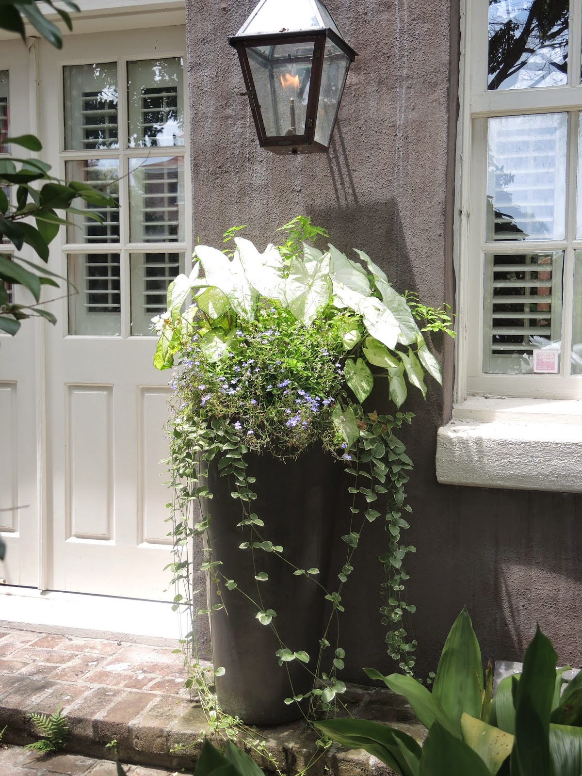 southern part sun shade window box
