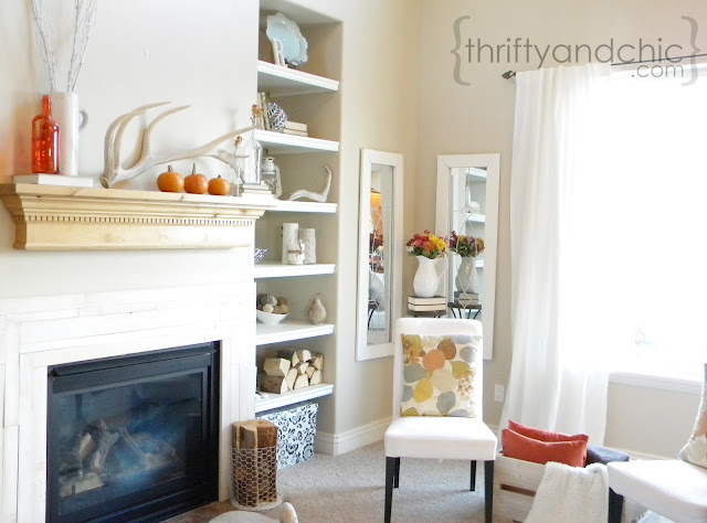 Fall living room