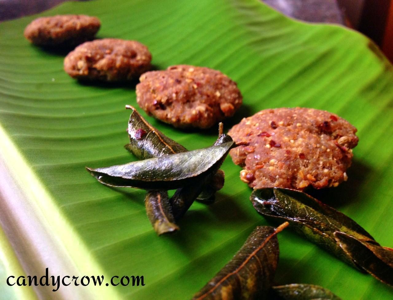 Kari Vadai | Minced Meat Fritter
